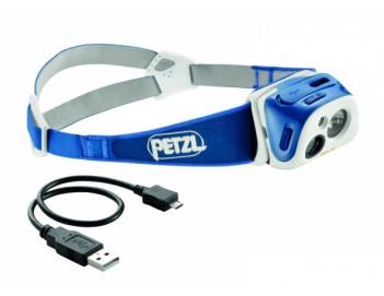 Компактный перезаряжаемый фонарь PETZL TIKKA R+ с технологией REACTIVE LIGHTING