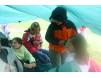 Универсальный тент защищает вас от дождя и солнца. TARP 5х4